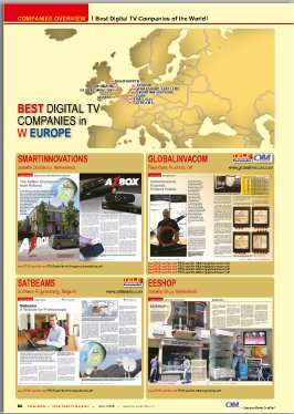 Best Digital TV companies in W Europe